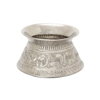Metal Embossed Vase