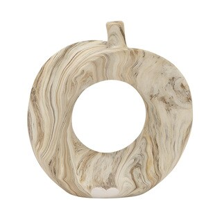 Dark Ceramic Marble Vase