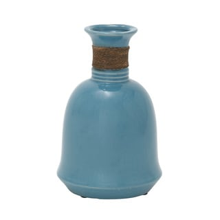Ceramic Jute Wrap Vase