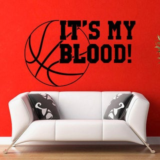 Play Basketball Wall Art Decal Sticker