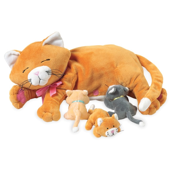 Manhattan Toy Nursing Pets Nursing Nina Plush Toy
