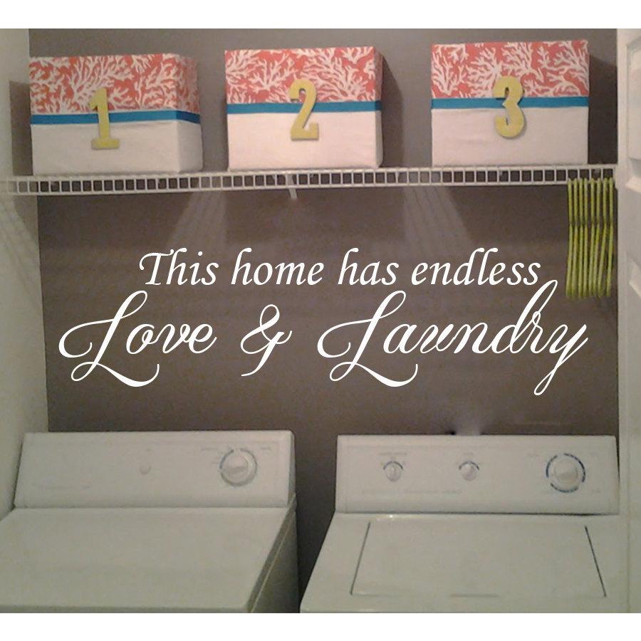 Laundry Room Decor Wall Quotes