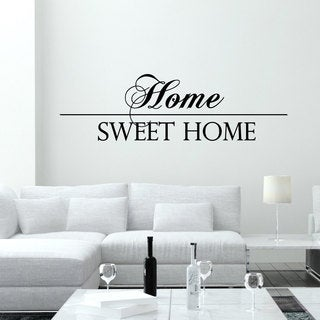 Wall Decal Quotes Home Sweet Home Vinyl Decals Living Stickers Home Decor