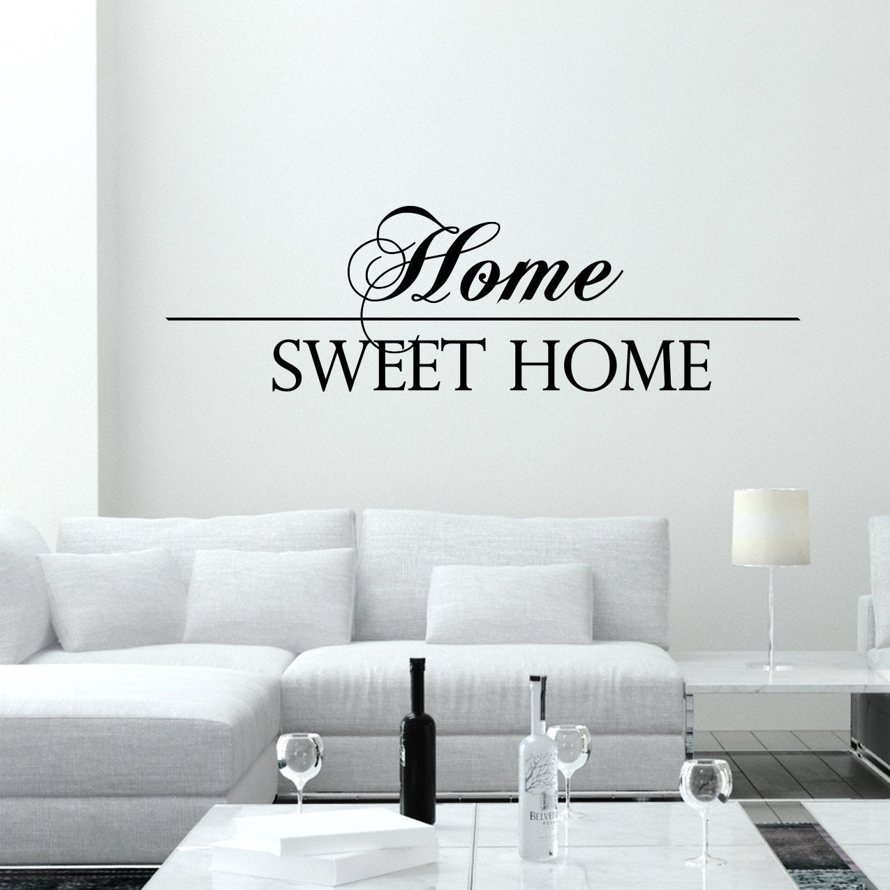 shop wall decal quotes home sweet home vinyl decals living