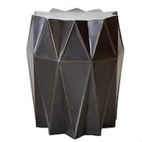 Corrugation Stool Bronze