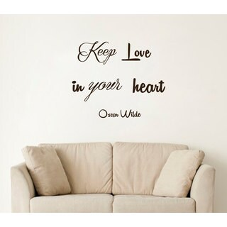 Quotes Love Heart Wall Art Decal Sticker