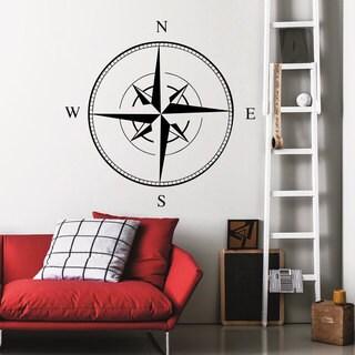 Nautical Compass Wall Art Sticker Decal