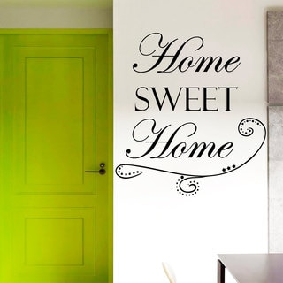 Home Sweet Wall Art Decal Sticker