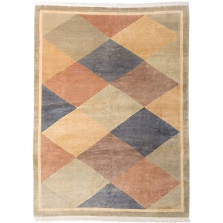 ecarpetgallery Opulence Beige/ Brown Wool Rug (8'0 x 11'0)