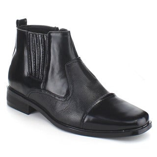 Beston Men's Elastic Dress Booties