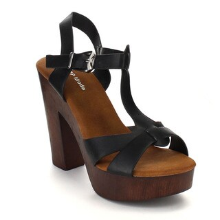 Beston CB83 Women's T-strap Sandals