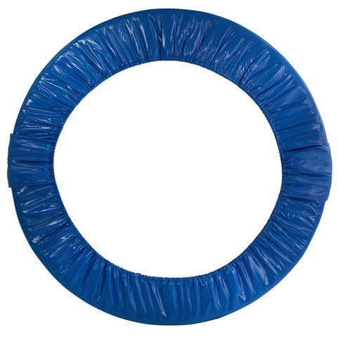 Upper Bounce 38-inch Blue Mini Round Replacement Trampoline Safety Pad