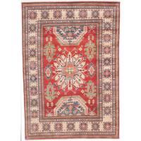 ecarpetgallery Finest Gazni Red Wool Rug - 7'3 x 10'2