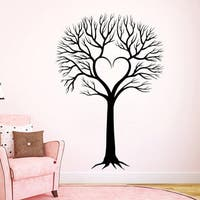 Wall Decal Tree Silhouette Decals Natural Forests for Nursery Room Living Home Decor Murals