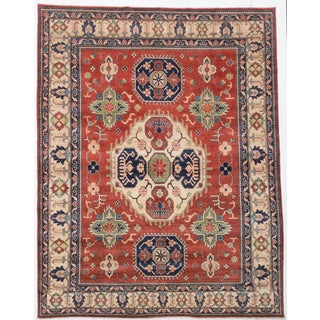 ecarpetgallery Finest Gazni Brown Wool Rug (8'1 x 10'5)