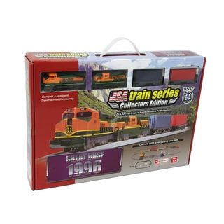 1996 BNSF (Burlington Northern Sante Fe) Battery Operated Train Set