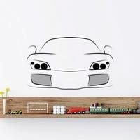 Auto Sports Car Automobile Wall Art Sticker Decal