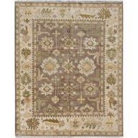 ecarpetgallery Royal Ushak Brown Wool Rug (8'0 x 10'0)