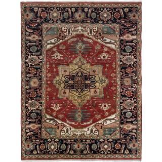 ecarpetgallery Serapi Heritage Orange Wool Rug (9'0 x 11'10)