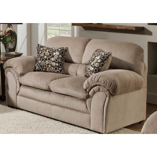 Simmons Upholstery Harper Cocoa Loveseat