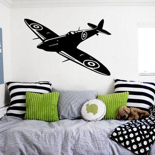 Airplane Plane Aviation Flying Wall Art Sticker Decal