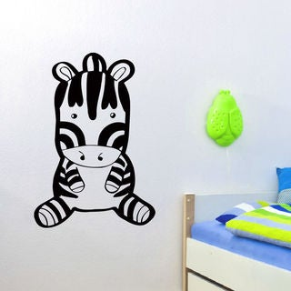 Anime Zebra Wall Art Sticker Decal