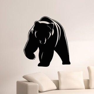 Animal Bear Wall Art Sticker Decal