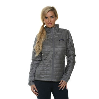Patagonia Women's Nano Puff Feather Grey Jacket