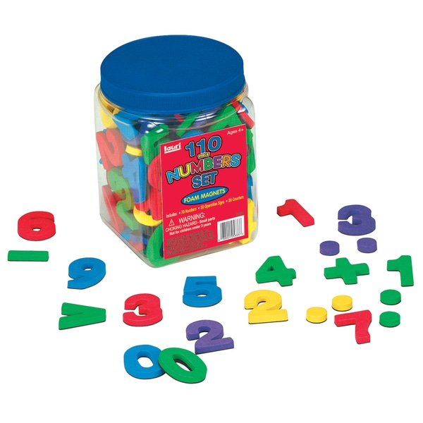 LAURI Magnetic Numbers 120-piece