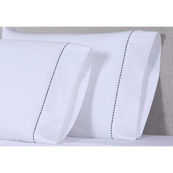 Affluence 600 TC Small Dot Pillowcase Sets