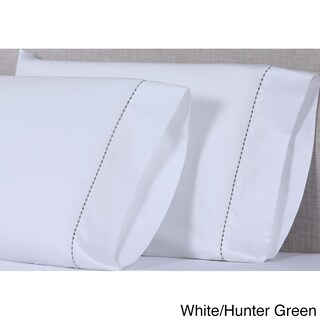 Affluence 600 TC Small Dot Pillowcase Sets (More options available)