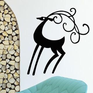 Chic Deer Wall Art Sticker Decal