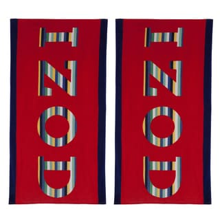 IZOD Rainbow Beach Towel (set of 2)