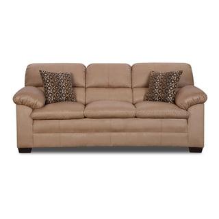 Simmons Upholstery Velocity Latte Sofa