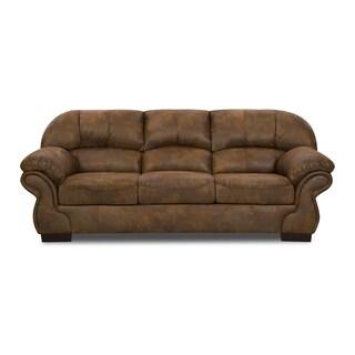 Simmons Upholstery Pinto Tobacco Sofa