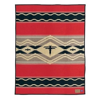 Pendleton Southwestern Water Indian Wool Blanket