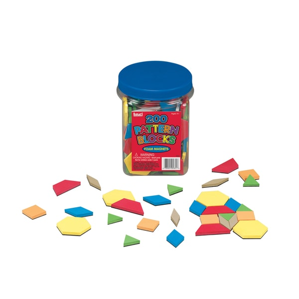 LAURI Magnetic Pattern Block 200-piece