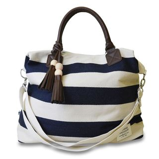Classic Navy Jet Setter Tote