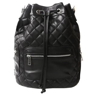 Olivia Miller 'Nadine' Quited Drawstring Backpack