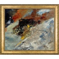 Pol Ledent 'Abstract 7752' Framed Fine Art Print