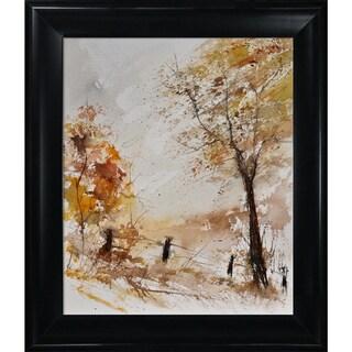 Pol Ledent 'Aquarelle 116060' Framed Fine Art Print