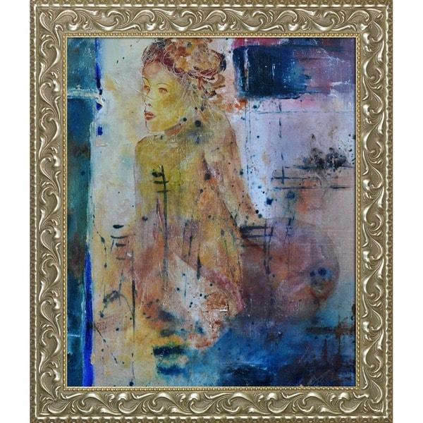 Pol Ledent 'Nude 3545' Framed Fine Art Print