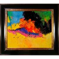 Pol Ledent 'Abstract 1811806' Framed Fine Art Print