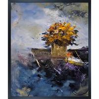 Pol Ledent 'Still Life 692121' Framed Fine Art Print