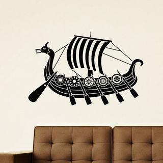 Ship Ocean Vinyl Wall Art Decal Sticker