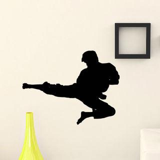 Martial Arts Man Vinyl Wall Art Decal Sticker