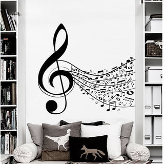 Sheet Music Wall Art Decal Sticker