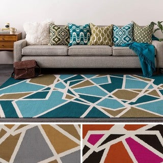 Table-Tufted Voie Polyester Rug (3' x 5')