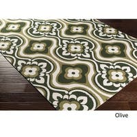 Table-Tufted Tian Polyester Rug - 3' x 5'