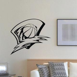 Sport Basketball Wall Art Sticker Decal